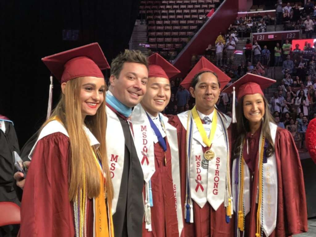 Jimmy Fallon's Surprise Advice to Parkland's Graduating Class