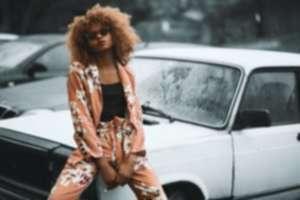 girl fashion gucci photoshoot