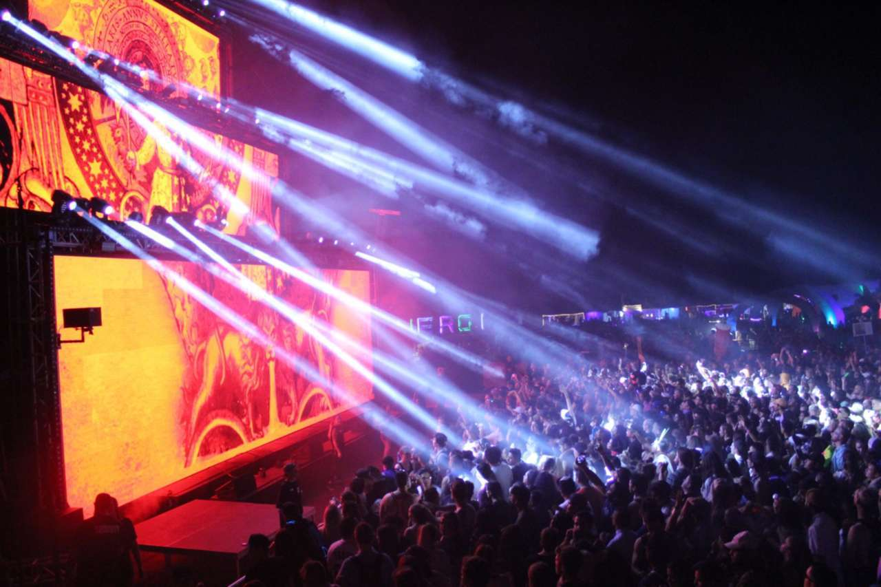 Das Energi Festival Lights Up The Great Salt Lake