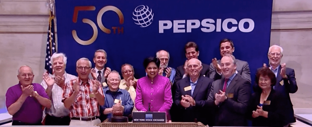 Indra Nooyi Steps Down as CEO of PepsiCo