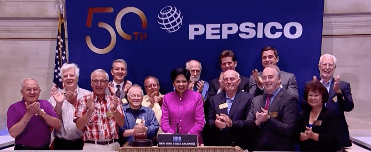 "Indra Nooyi Steps Down as CEO of PepsiCo, Leaving Just 24 Female Leaders of Fortune 500 Companies<span class=""wtr-time-wrap after-title""><span class=""wtr-time-number"">2</span> min read</span>"