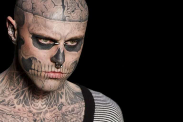Family Of Tattooed Model 'Zombie Boy' Insists That His Death Was Accidental – Despite Police Ruling it Suicide