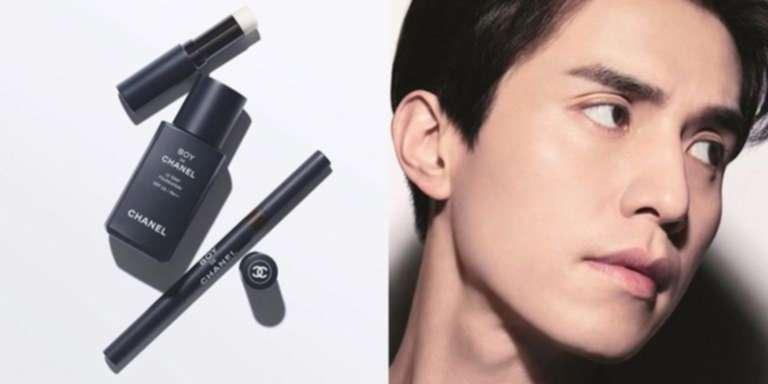Chane'ls new makeup for men