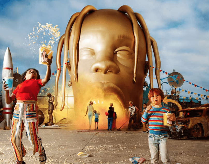 Take A Step Inside Travis Scott's Astroworld