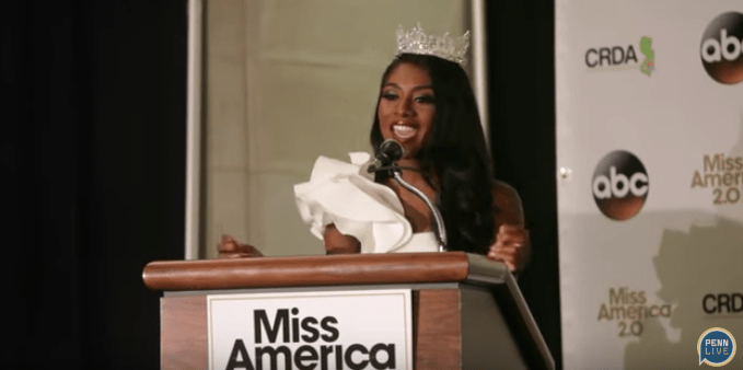 Nia Imani Franklin Won Miss America 2019 and Praised the Organization For Dropping Swimsuit Competition