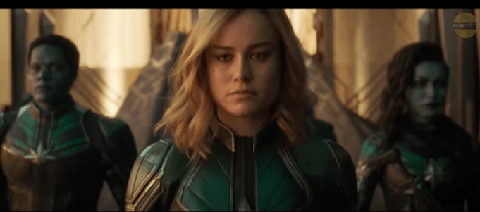 Just Released Captain Marvel Trailer Takes Us Back To The Girl-Powered 90's