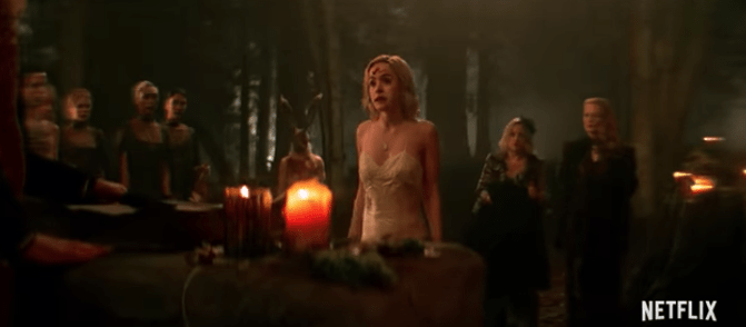 New 'Chilling Adventures of Sabrina' Trailer Opens Up Spooky New World on Netflix