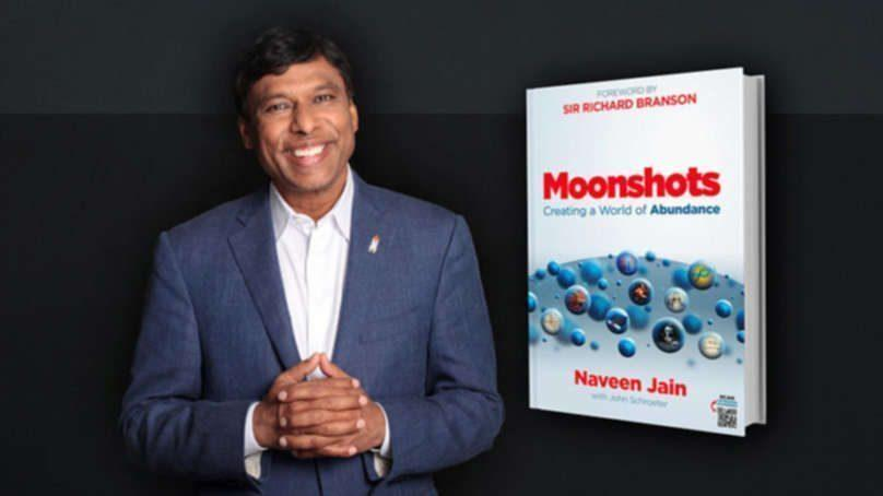 "Naveen Jain on Life, Liberty, and the Pursuit of Moonshots<span class=""wtr-time-wrap after-title""><span class=""wtr-time-number"">4</span> min read</span>"