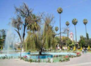 Plaza Colon Cochabamba Bolivia