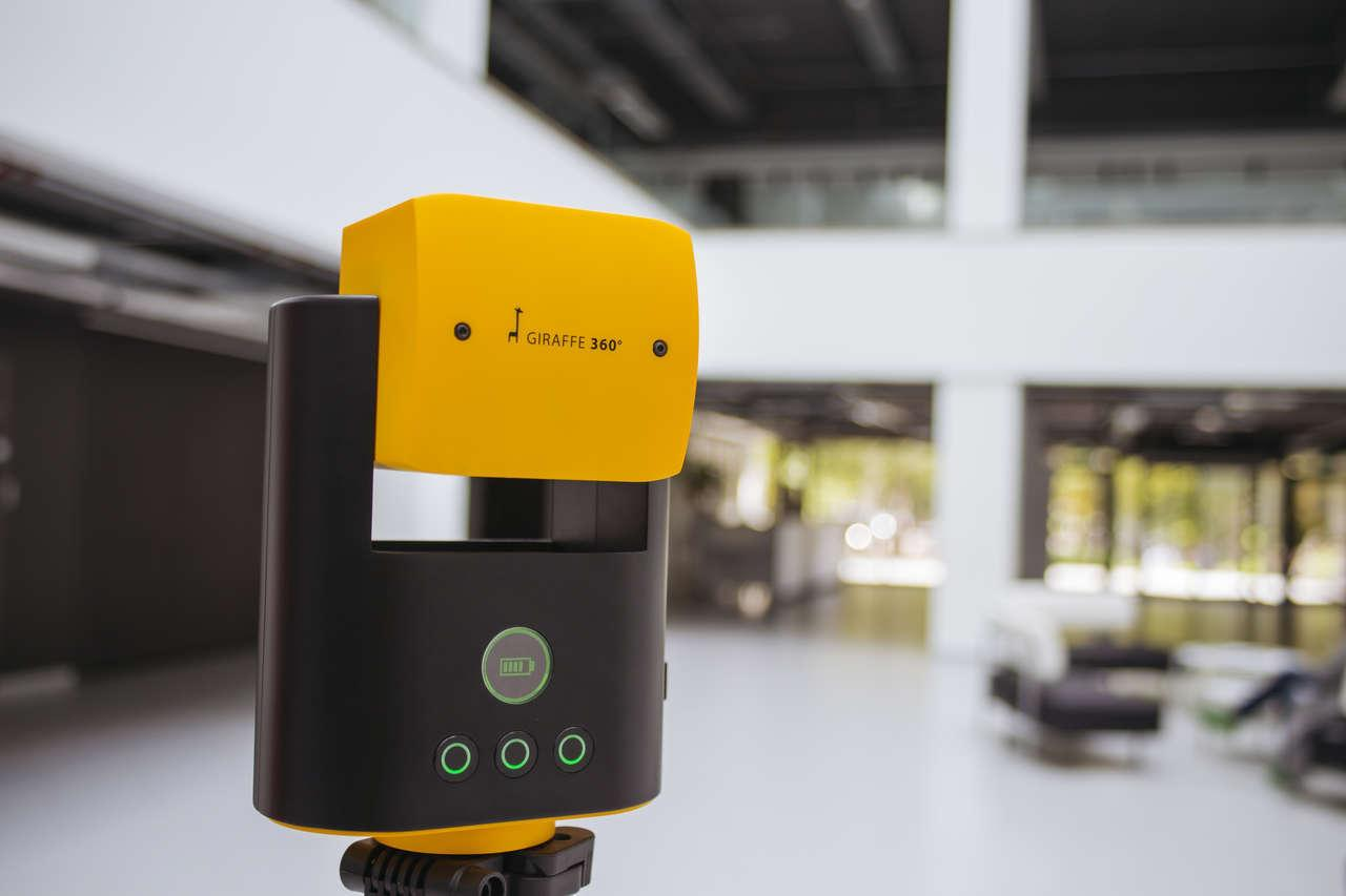 Giraffe 360 invents its own VR camera in bid for slice of virtual reality market