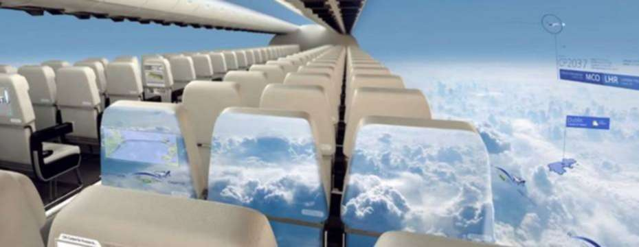 Is This Windowless Plane The Future Of Air Travel?