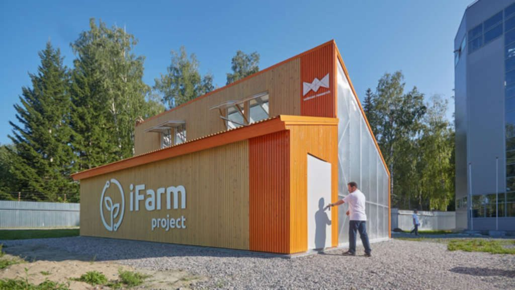 iFarm's Urban Greenhouses Deliver Organic Revolution