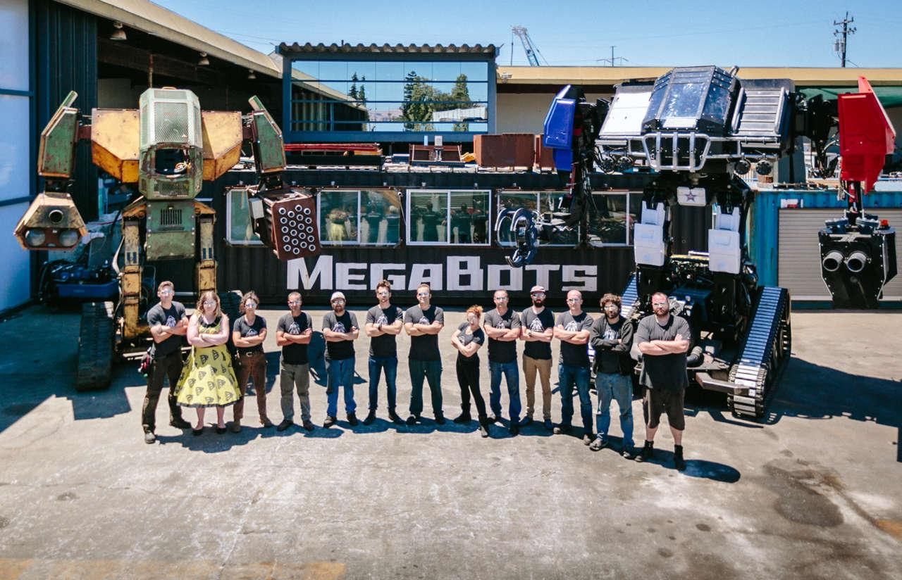 Is this the end? MegaBots pits two-story robots against each other in real combat.