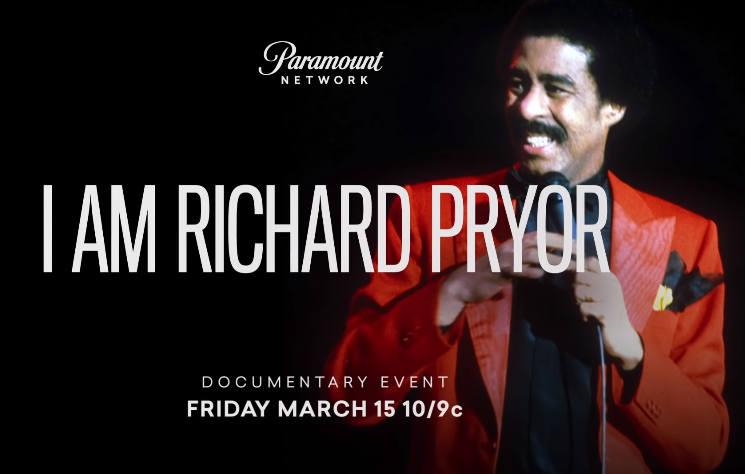 "Paramount Network Announces Release of ""I Am: Richard Pryor"" Documentary at SXSW"