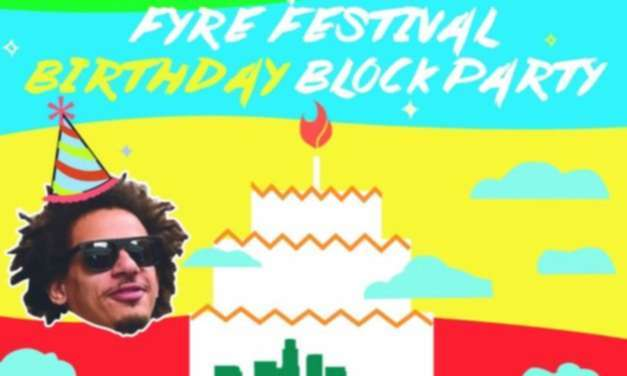 Eric Andre Recreates Fyre Festival In Los Angeles For His Birthday
