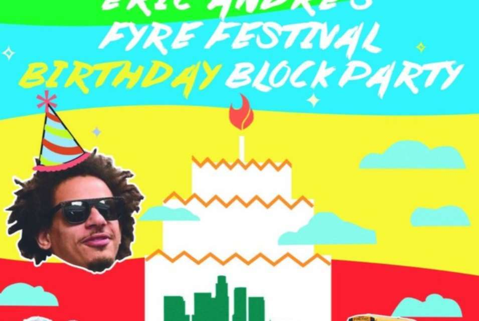 "Eric Andre Recreates Fyre Festival In Los Angeles For His Birthday<span class=""wtr-time-wrap after-title""><span class=""wtr-time-number"">3</span> min read</span>"