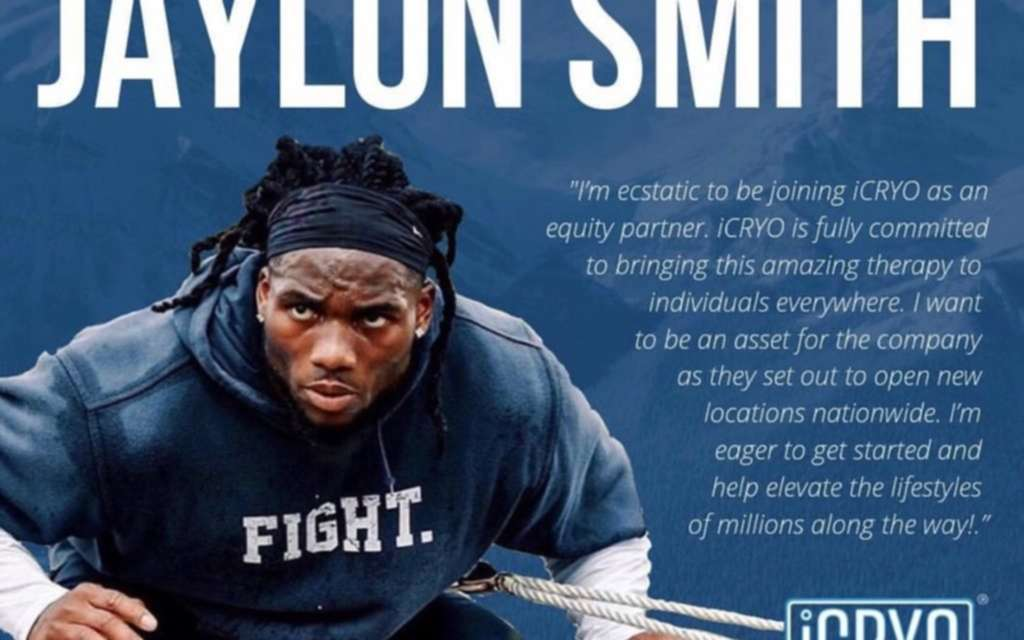 "Dallas Cowboys', Jaylon Smith, Joins iCryo As Equity Partner; Explains Benefits Post-Injury<span class=""wtr-time-wrap after-title""><span class=""wtr-time-number"">6</span> min read</span>"