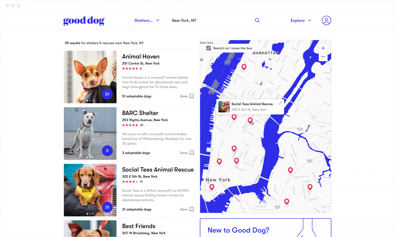 Good Dog just raised $6.7 million to help you find a pup