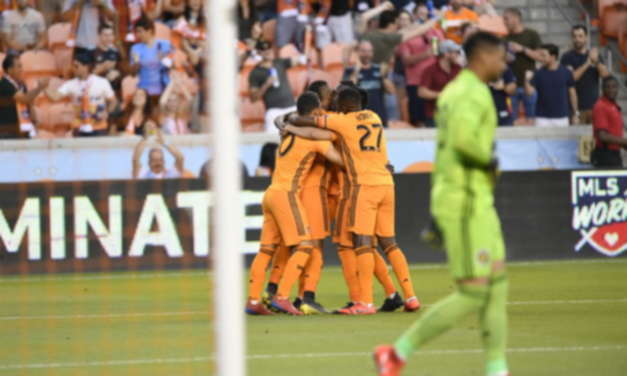 Columbus Crew SC Drop To Houston Dynamo