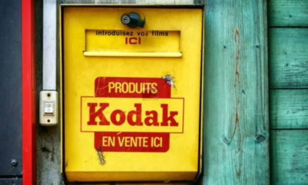 "Kodak's ""dark times"" foreshadow stagnation in the digital age"