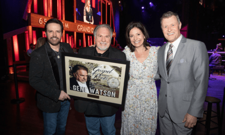 Country Artist, Gene Watson, Celebrates 3 Consecutive No. 1's At Grand Ole Opry