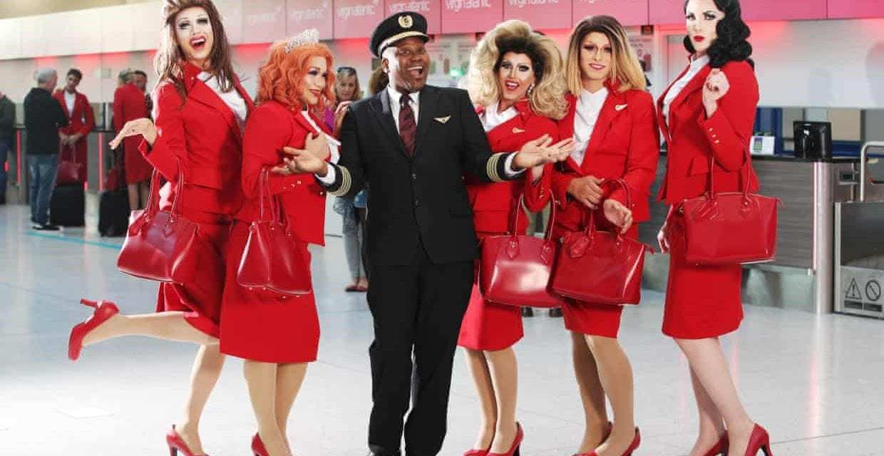 """All Aboard Virgin Atlantic's 'Pride' Flight<span class=""""wtr-time-wrap after-title""""><span class=""""wtr-time-number"""">3</span> min read</span>"""