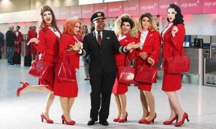 All Aboard Virgin Atlantic's 'Pride' Flight