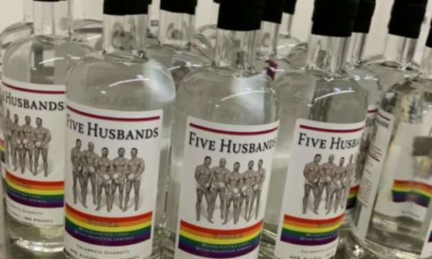 """Utah Distillery Unveils """"Five Husbands"""" Vodka For Pride"""
