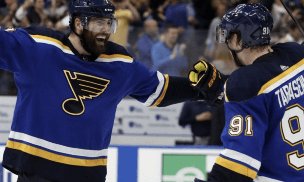 Despite Effort by Bishop, Stars Are Knocked Out of the Postseason by Blues