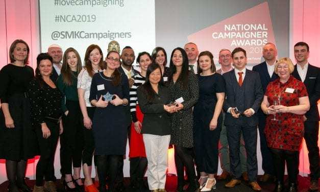 UK honors grassroots campaigners