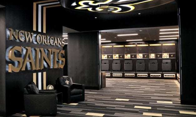 Brands go nuts over this company's locker room set ups
