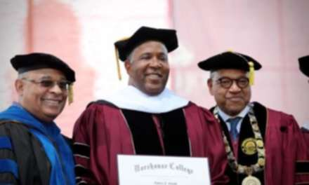Billionaire Robert F. Smith Announces Plans To Pay Off Morehouse College Student Debts