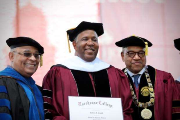 "Billionaire Robert F. Smith Announces Plans To Pay Off Morehouse College Student Debts<span class=""wtr-time-wrap after-title""><span class=""wtr-time-number"">3</span> min read</span>"