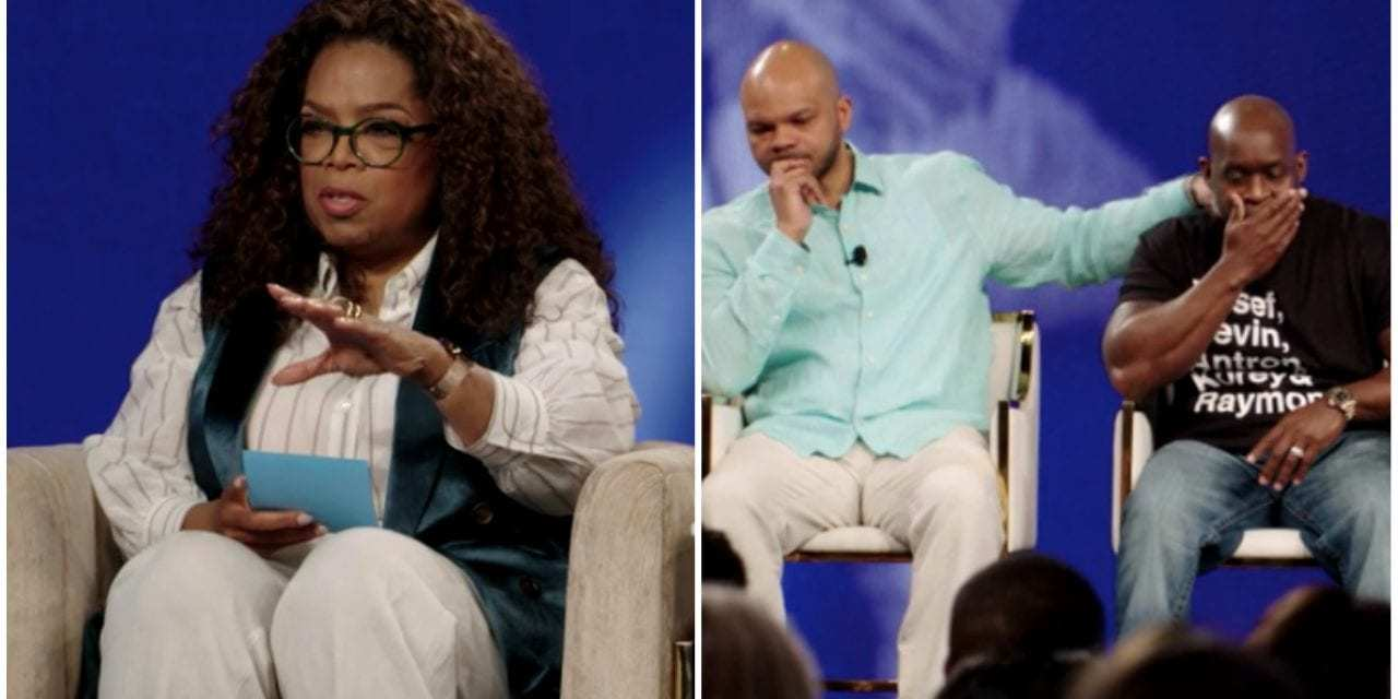 """Emotions Run High During Netflix Discussion On 'When They See Us' Hosted By Oprah Winfrey<span class=""""wtr-time-wrap after-title""""><span class=""""wtr-time-number"""">3</span> min read</span>"""