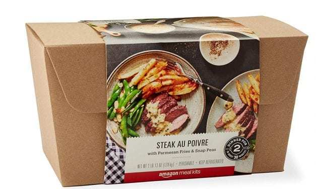 Amazon expands meal-kit sales, JUST and Parmela get a plant-based boost