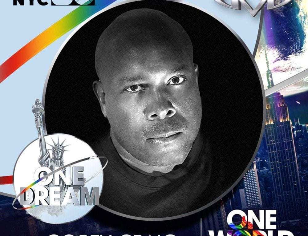 "Dr. and DJ Corey Craig is ready to slay the WorldPride ""One Dream"" party"