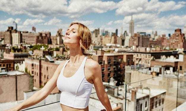 """Ex-model Sarah Anne Stewart on the power of """"breath work"""""""