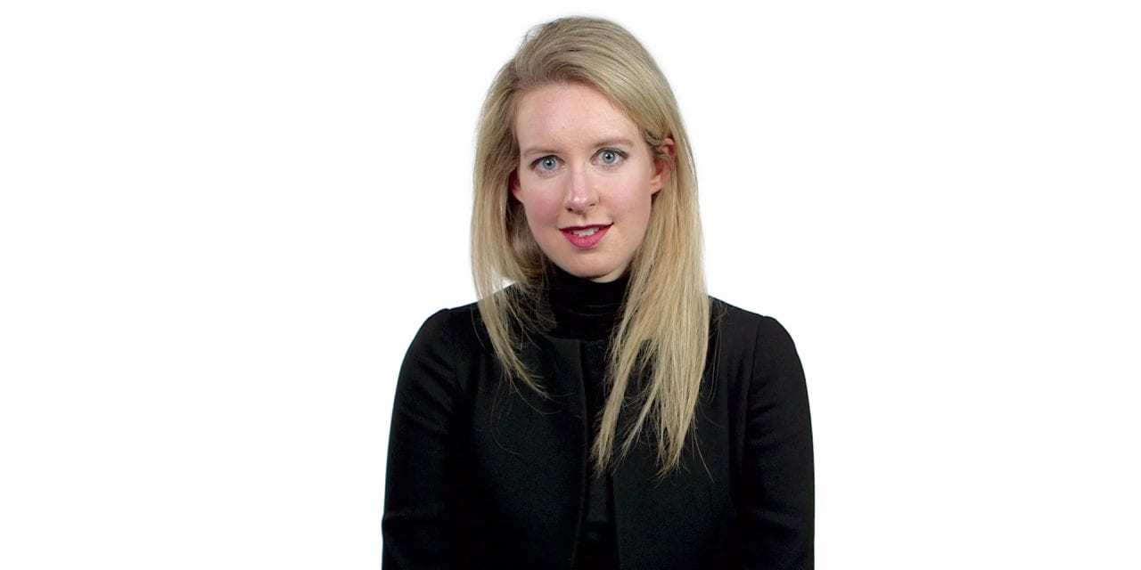 """Elizabeth Holmes, Founder Of Theranos, Goes To Trial<span class=""""wtr-time-wrap after-title""""><span class=""""wtr-time-number"""">2</span> min read</span>"""