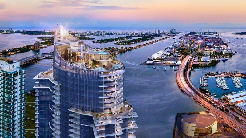 Miami's First Flying Car Port Is Being Installed