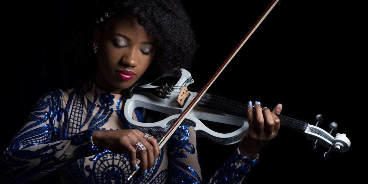 """Joy Black used her violin to raise awareness of bullying and her fans are loving it<span class=""""wtr-time-wrap after-title""""><span class=""""wtr-time-number"""">4</span> min read</span>"""