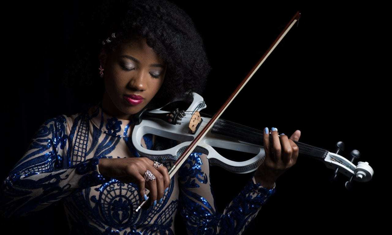Joy Black used her violin to raise awareness of bullying and her fans are loving it