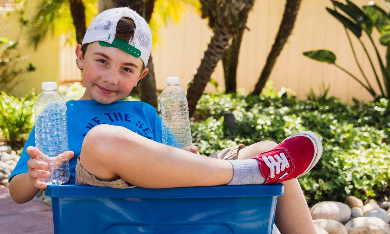 Sand Cloud and Ryan's Recycling Collaborate on Kids Apparel Line