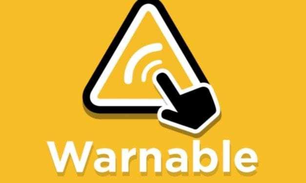 Warnable is a neighborhood watchdog on your smartphone