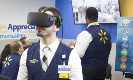 Walmart is Using VR Headsets to Test Employees' Skills For Promotions