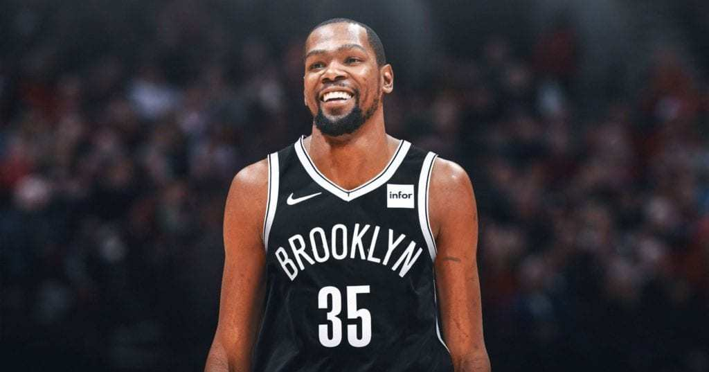 kevin durant signs with the Brooklyn Nets
