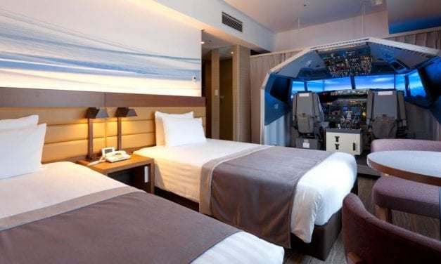 Love Traveling? Check Out This Japanese Hotel Room/Flight Simulator