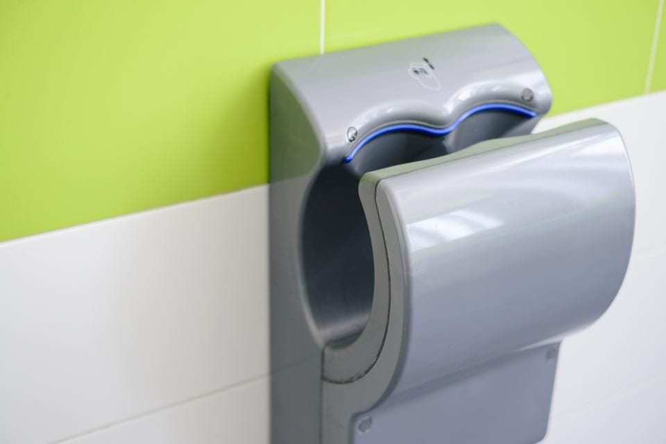 """A New Study Shows Hand Dryers Can Cause Hearing Loss<span class=""""wtr-time-wrap after-title""""><span class=""""wtr-time-number"""">3</span> min read</span>"""