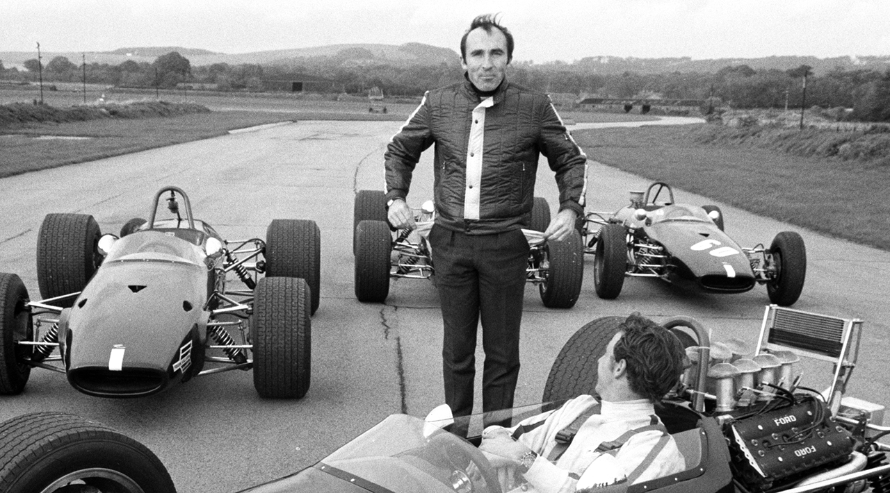 Sir Frank Williams Celebrate 50 Years with Formula One