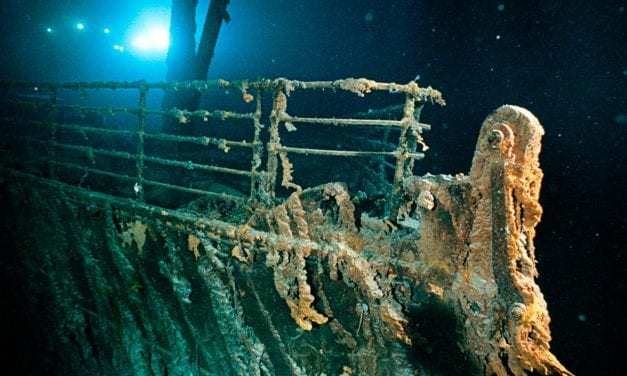The Titanic Disintegrating and the Internet is Pissed About It