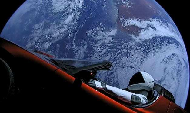 The Tesla Roadster Elon Musk Shot Into Space Finished Its Trip Around The Sun